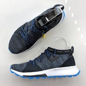 NEW Adidas QUESA CORE BLACK GREY SIX  CLOUD WHITE
